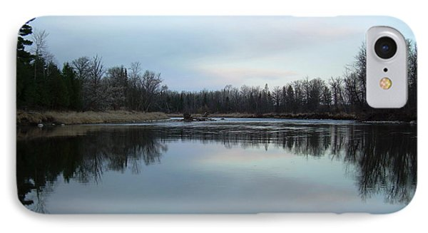 IPhone Case featuring the photograph Mississippi River Morning Reflection by Kent Lorentzen