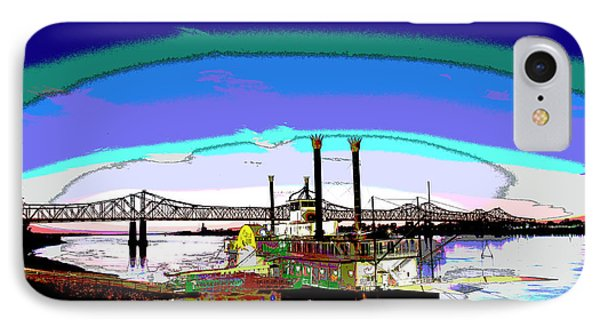 Mississippi Riverboat IPhone Case by Charles Shoup