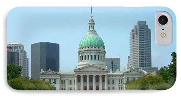 IPhone Case featuring the photograph Missouri State Capitol Building by Mike McGlothlen