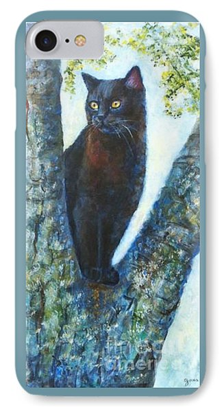 Missy In Tree Phone Case by Jana Baker