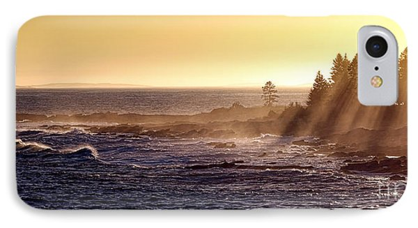 Mist Off The Coast Of Maine IPhone Case