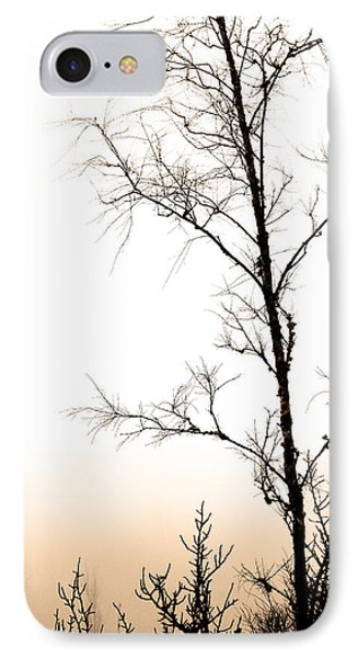 Mist, Trees And Roads IPhone Case by Tommytechno Sweden