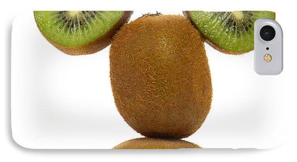 Kiwi iPhone 7 Case - Mister Kiwi by Olivier Le Queinec