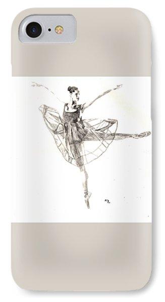 Misty Ballerina Dancer IIi IPhone Case