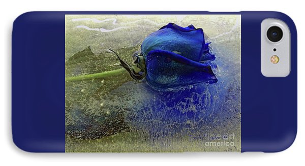 Misty Blue IPhone Case by Terry Foster