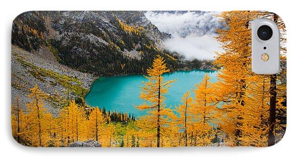 Misty Colchuck Lake IPhone Case by Inge Johnsson