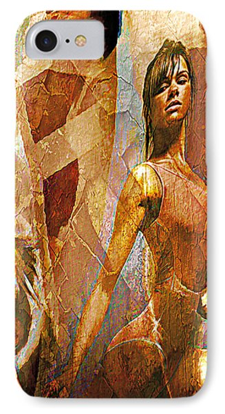 Misty Copeland IPhone Case by Lynda Payton