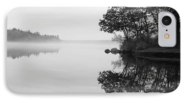 Misty Cove IPhone Case by Luke Moore