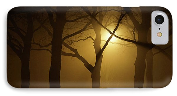 Misty Cross Phone Case by Erik Tanghe