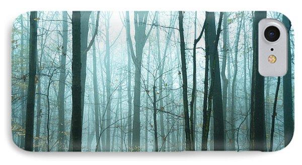 Misty Forest Phone Case by John Greim
