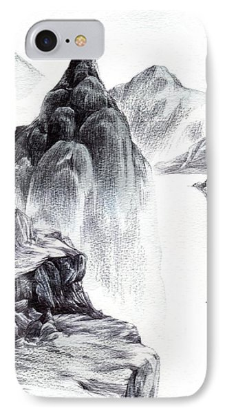 Misty Gorge IPhone Case