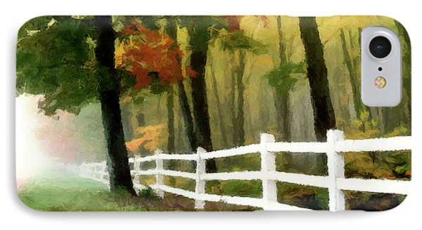 Misty In The Dell P D P IPhone Case by David Dehner