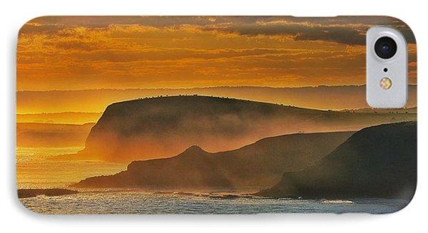 Misty Island Sunset IPhone Case by Blair Stuart