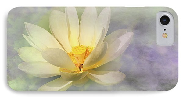 Misty Lotus IPhone Case by Carolyn Dalessandro