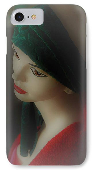 IPhone Case featuring the photograph Misty Lucy by Nareeta Martin