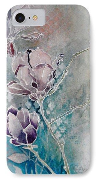 Misty Magnolias IPhone Case