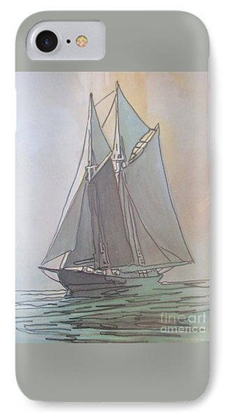 Misty Marine Art IPhone Case by John Malone
