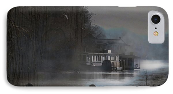 IPhone Case featuring the photograph Misty Moonlight by LemonArt Photography