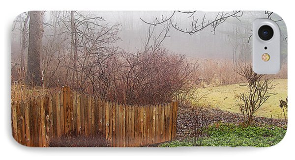 IPhone Case featuring the photograph Misty Morn by Betsy Zimmerli