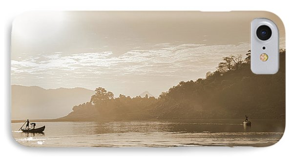 Misty Morning 2 IPhone Case by Kiran Joshi