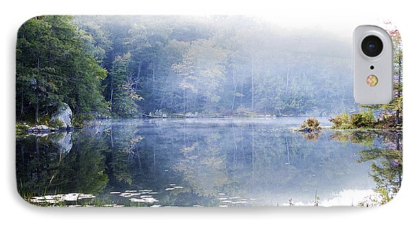 IPhone Case featuring the photograph Misty Morning At John Burroughs #1 by Jeff Severson