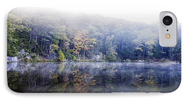 IPhone Case featuring the photograph Misty Morning At John Burroughs #2 by Jeff Severson