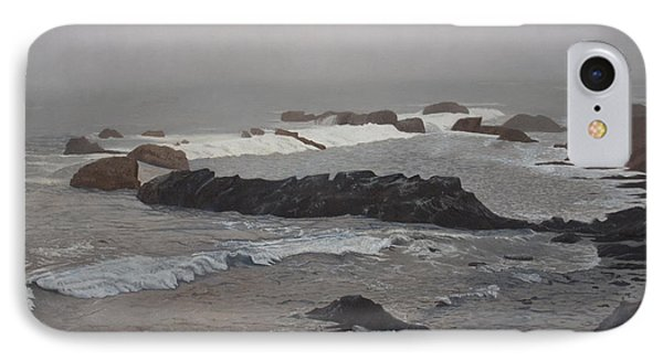 Misty Morning At Ragged Point, California IPhone Case