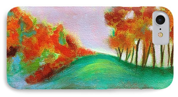 Misty Morning IPhone Case by Elizabeth Fontaine-Barr