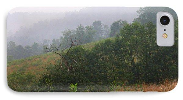 Misty Morning On The Farm Phone Case by Thomas R Fletcher