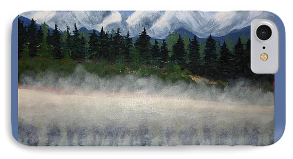 Misty Morning On The Mountain IPhone Case