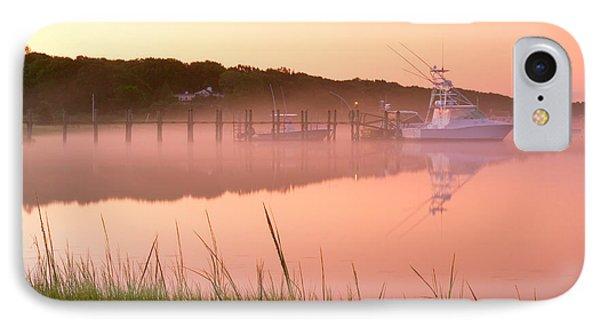 Misty Morning Osterville Cape Cod Phone Case by Matt Suess