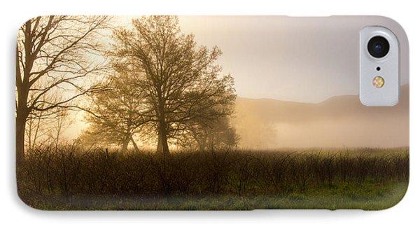 Misty Morning IPhone Case by Rebecca Hiatt
