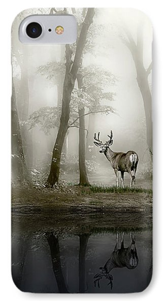 Misty Morning Reflections IPhone Case by Diane Schuster