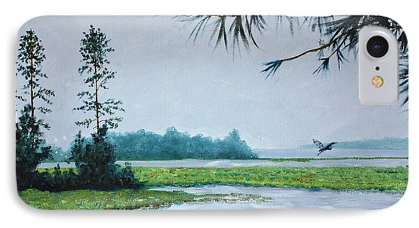 Misty Morning IPhone Case by Stanton Allaben