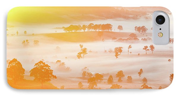 Misty Mornings IPhone Case