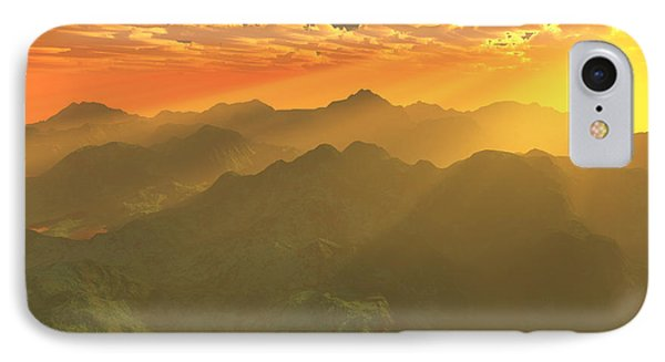 Misty Mornings In Neverland Phone Case by Gaspar Avila