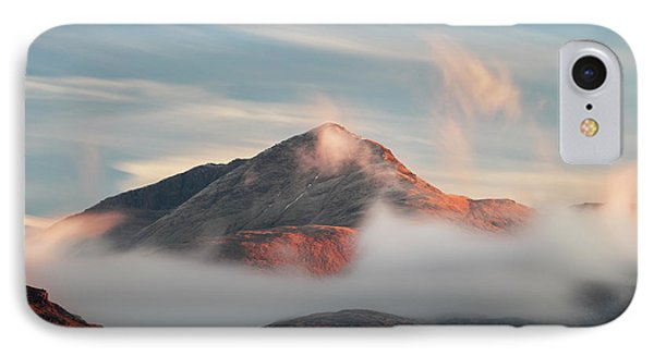 IPhone Case featuring the photograph Misty Mountain by Grant Glendinning