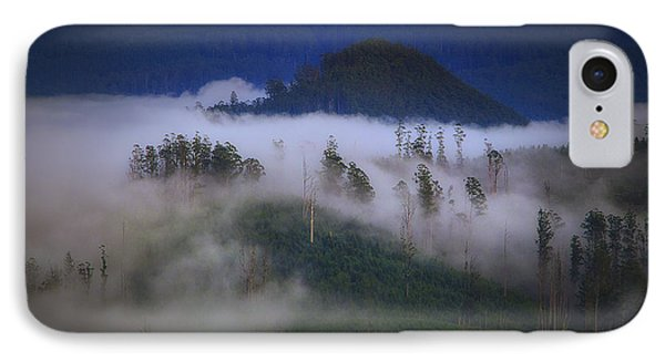 IPhone Case featuring the photograph Misty Mountains by Tim Nichols