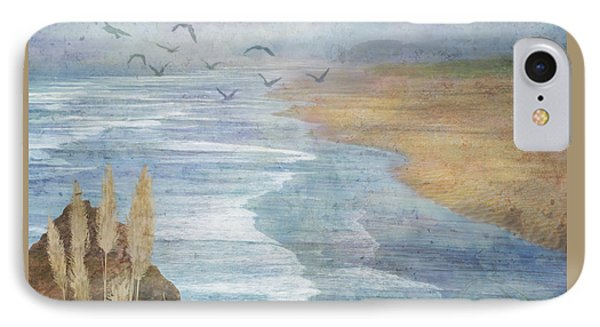 IPhone Case featuring the digital art Misty Retreat by Christina Lihani