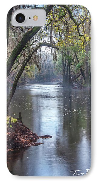 Misty River IPhone Case by Tim Fitzharris