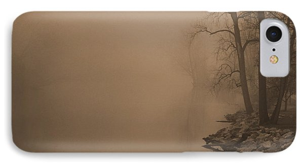 Misty River - Vintage  IPhone Case