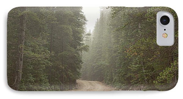 IPhone Case featuring the photograph Misty Road by James BO Insogna