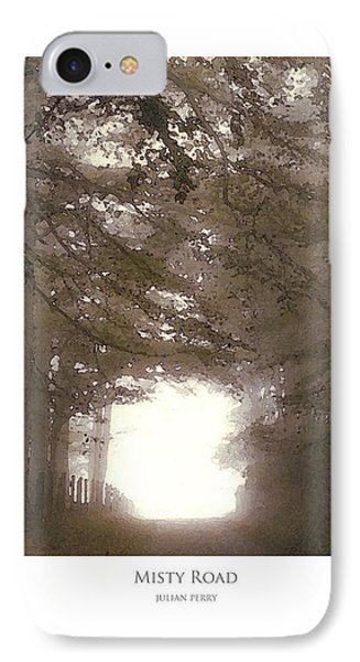 Misty Road IPhone Case by Julian Perry