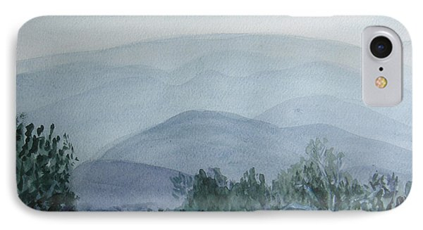 Misty Shenandoah IPhone Case by Donna Walsh