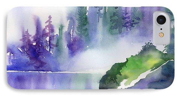 Misty Summer IPhone Case by Yolanda Koh