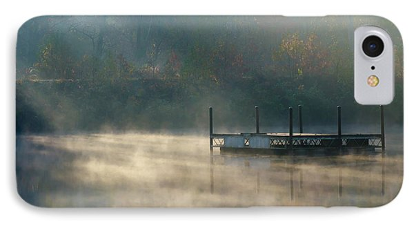 IPhone Case featuring the photograph Misty Sunrise by George Randy Bass