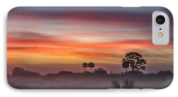 Misty Sunrise IPhone Case by Liesl Walsh