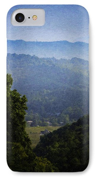 Misty Virginia Morning Phone Case by Teresa Mucha