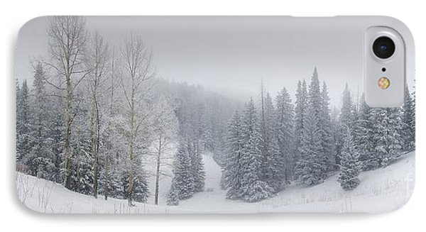 Misty Winter Panorama IPhone Case