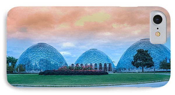 Mitchell Park Conservatory,the Domes IPhone Case by Art Spectrum
